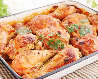 Pollo al Horno al Curry