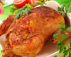 Pollo al Horno al Pimentón