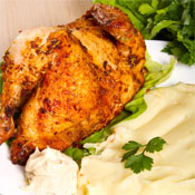 Pollo al Horno con Puré
